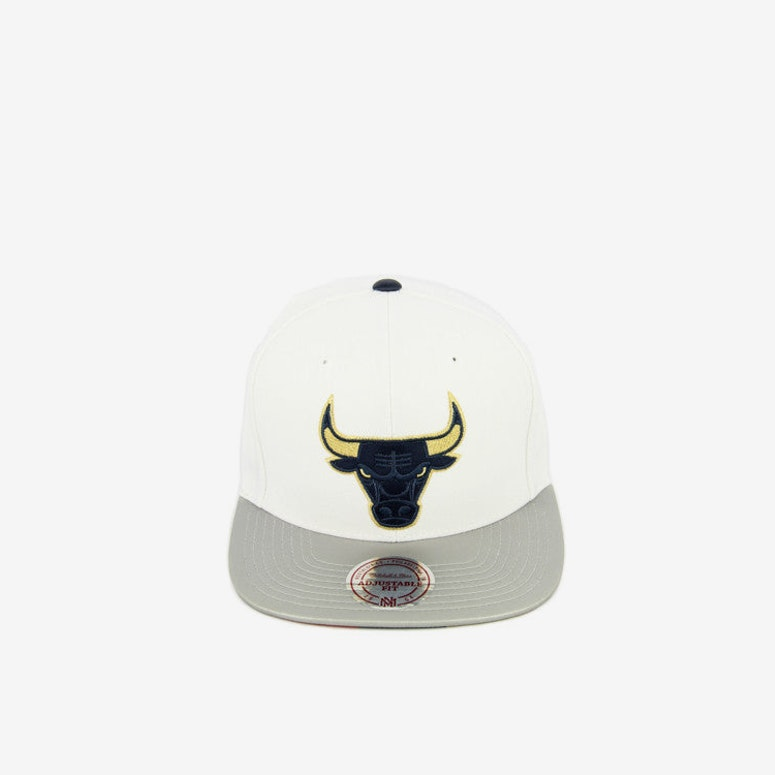 Bulls Usa Gold Snapback White/grey