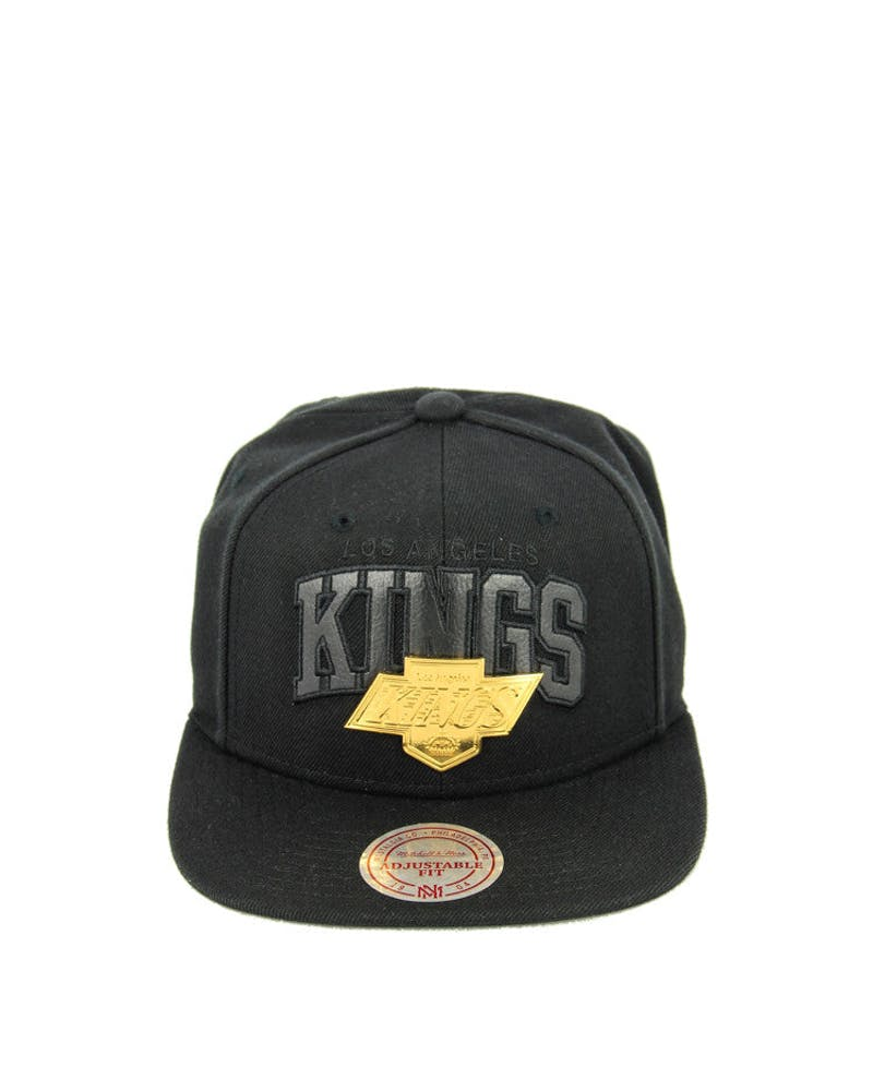 Kings Lux Arch Snapback Black/gold