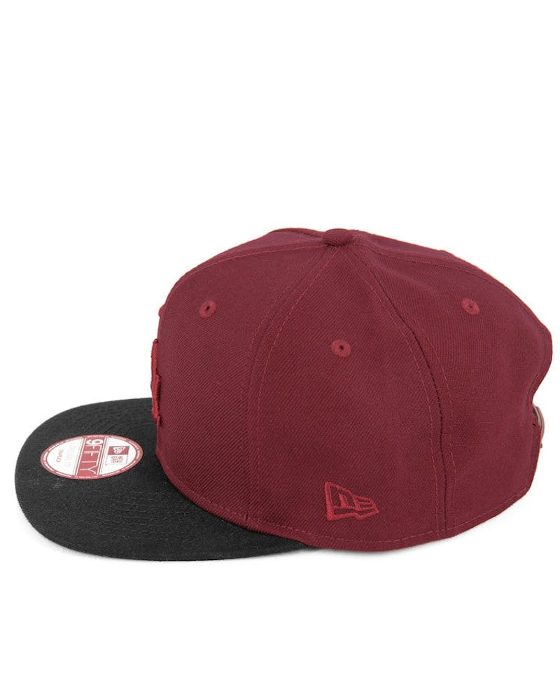 Dodgers Original Fit Snapback Cardinal/black