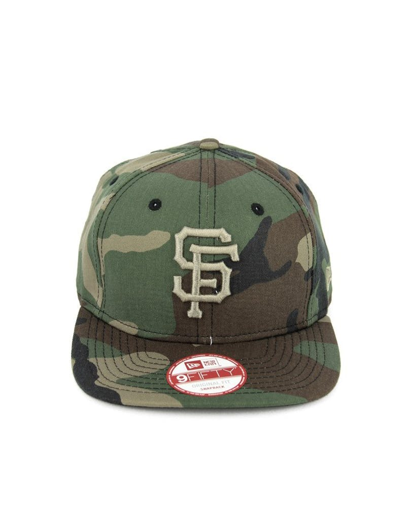 Giants Original Fit Snapback Camo/gold