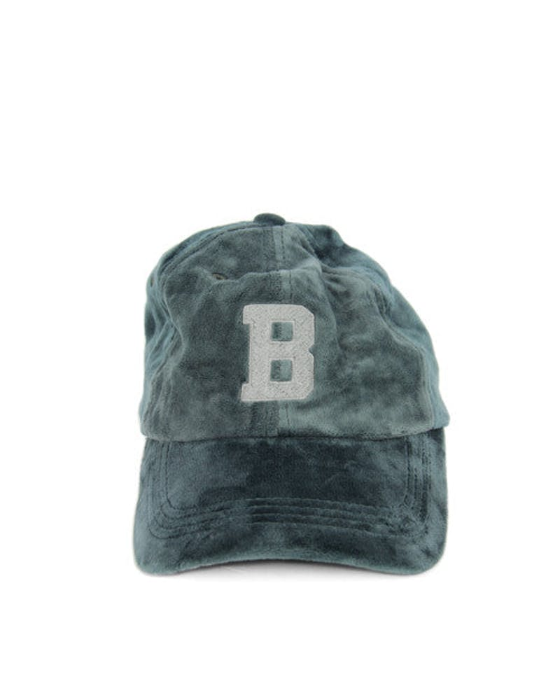 Letter Graphic Strapback Grey