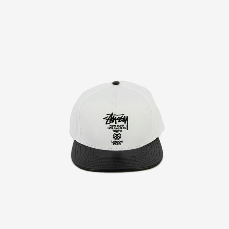 cc28b85b3ec Stussy World Tour Snapback White – Culture Kings