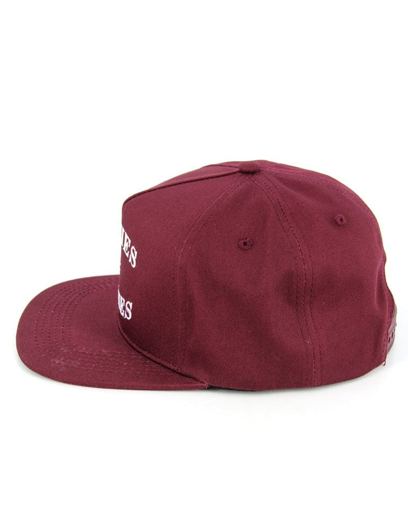 Homies & Bitches Snapback Burgundy