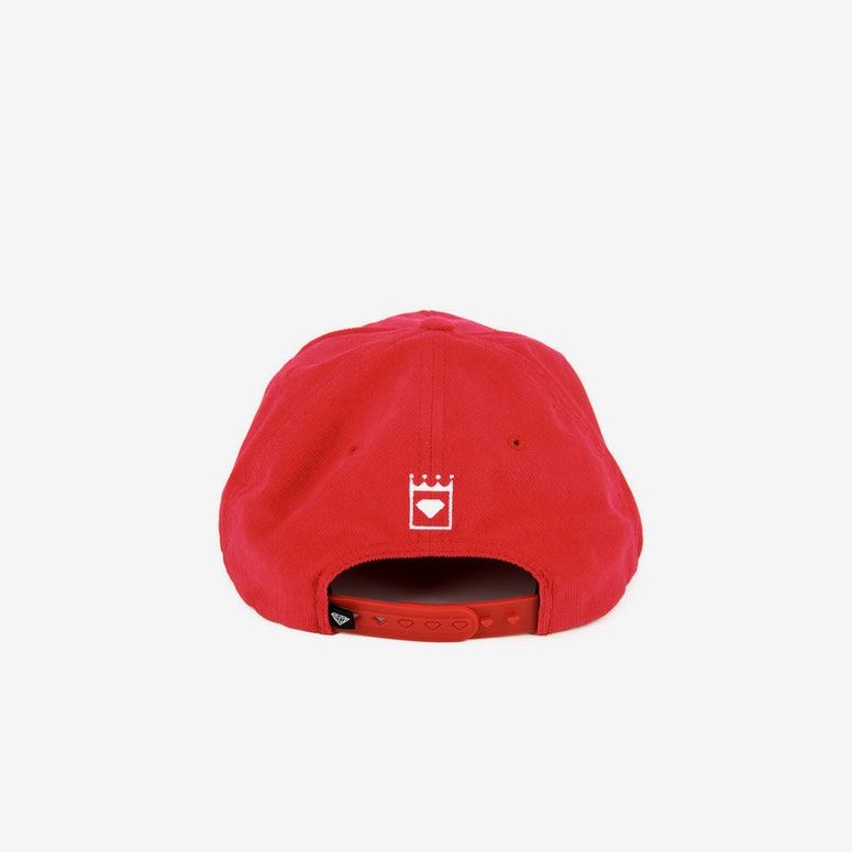 City Script Snapback Red