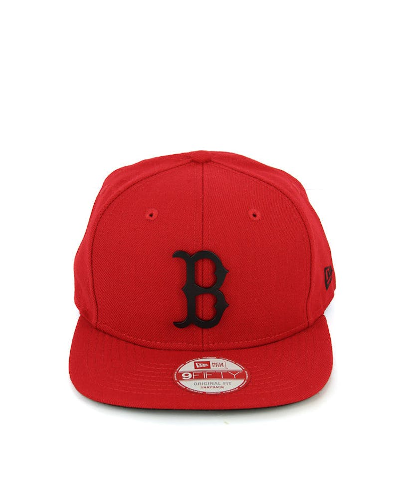 Red Sox Orig.fit Metal Snapback Scarlet/black