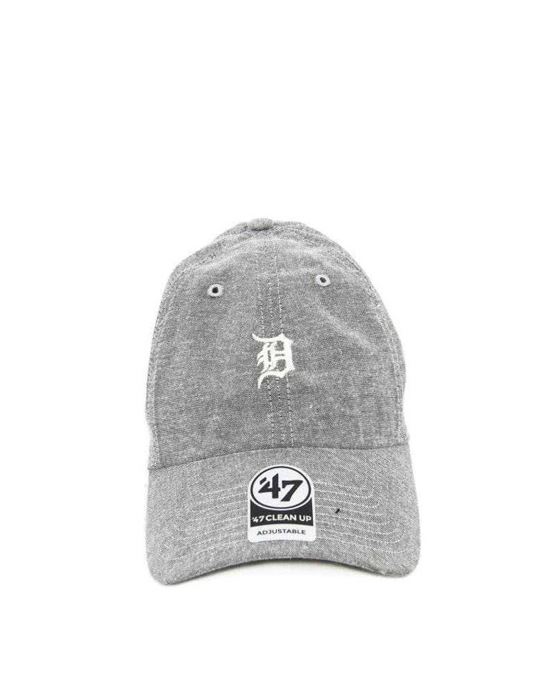 Tigers Monument Strapback Grey