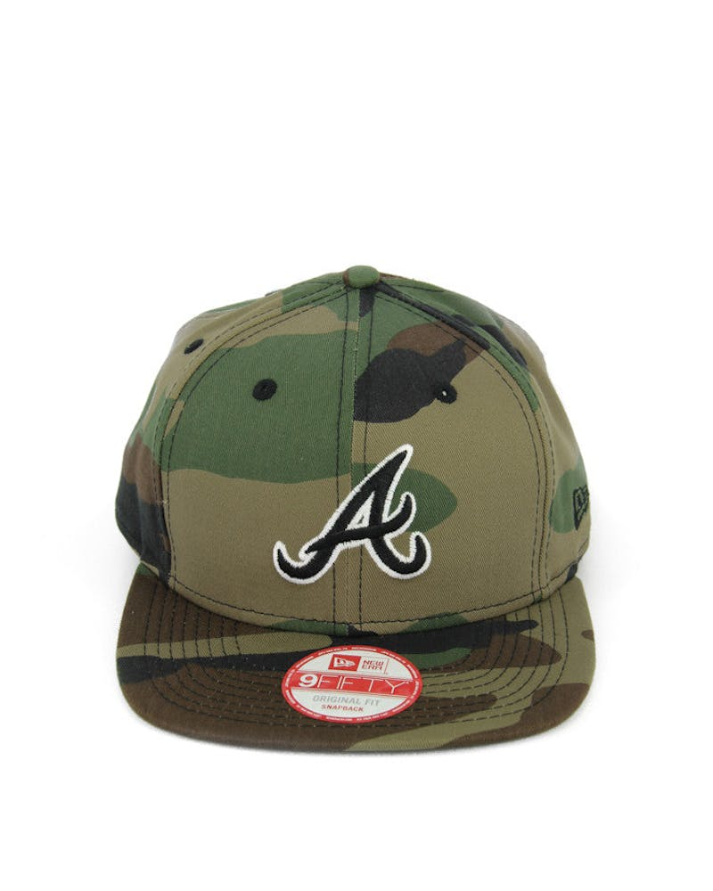Braves Original Fit Snapback Camo/black/whit