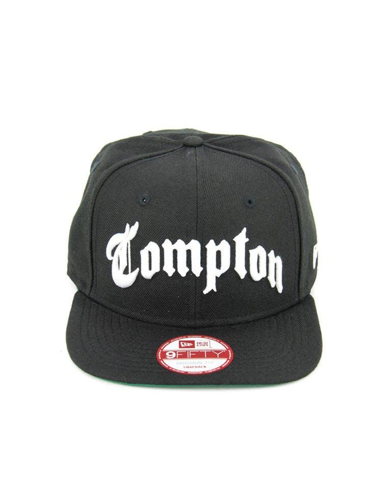 dfb55ea850a New Era Compton Original Fit Snapback Black white – Culture Kings