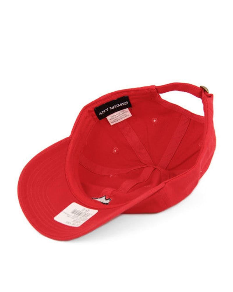 Boosted Curved Strapback Red