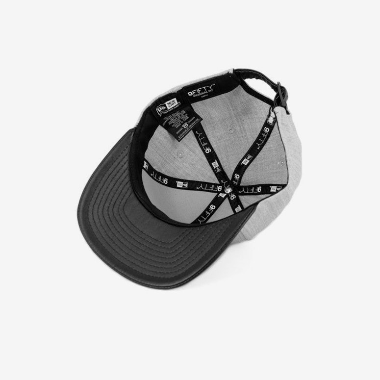 Thuxury Chain C Leather Strap Back Grey/black