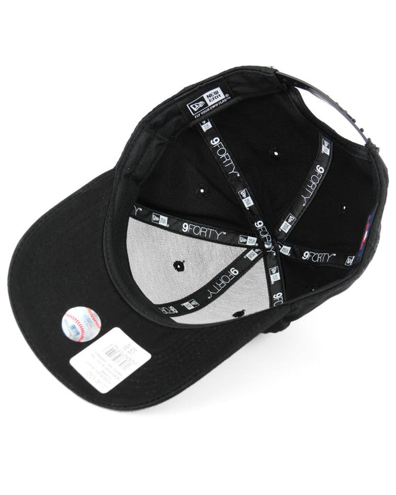 New Era Yankees 9FORTY Snapback Black/black