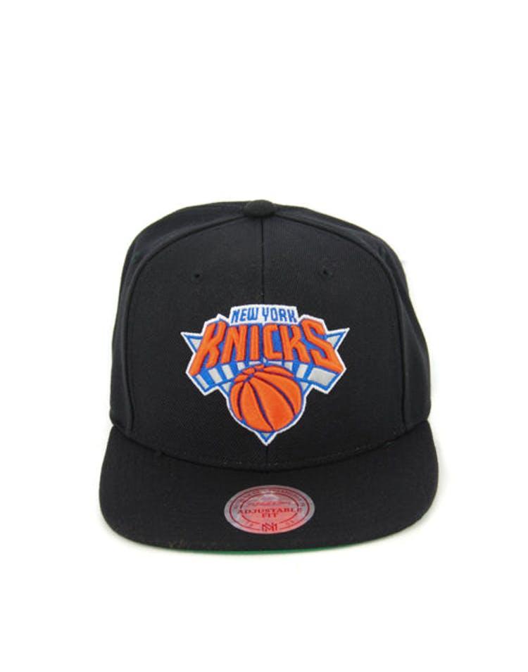 sale retailer 31eda c633b New York Knicks Wool Solid Snapback Black