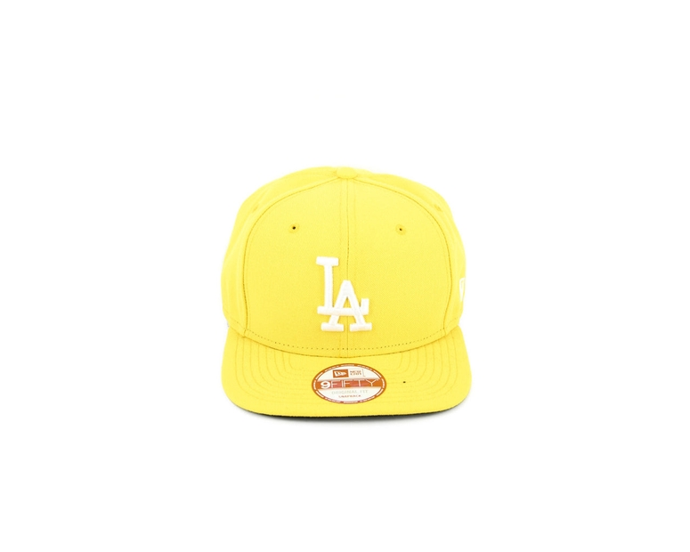 Dodgers Original Fit Snapback Yellow/white