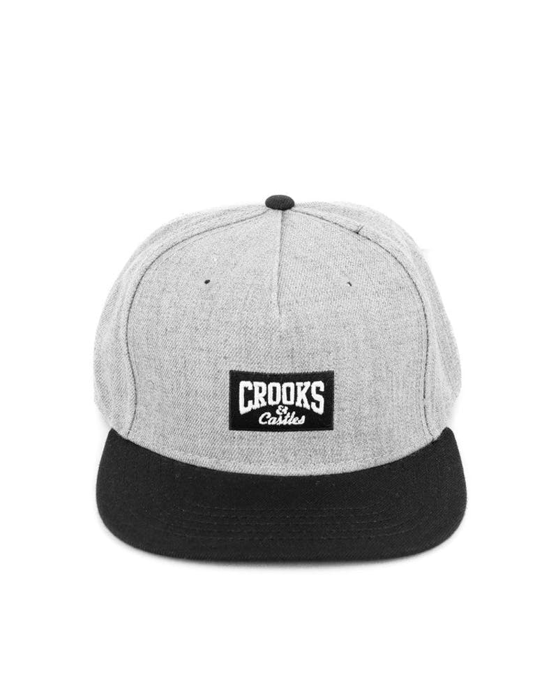 Core Logo Snapback Cap Grey/black