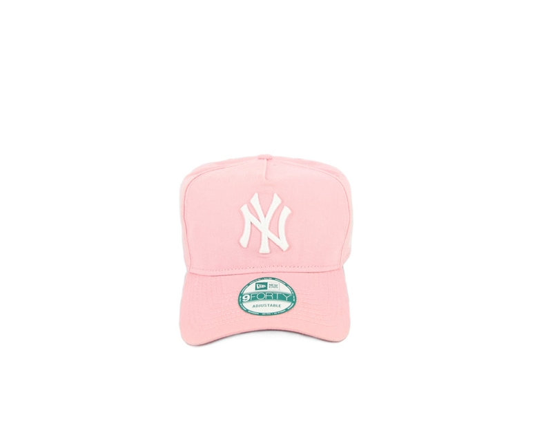 Yankees 940 AF Washed Snapback Pink/white