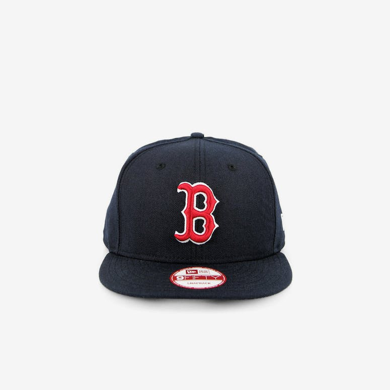 34800876935 New Era Boston Red Sox Snapback Navy red – Culture Kings