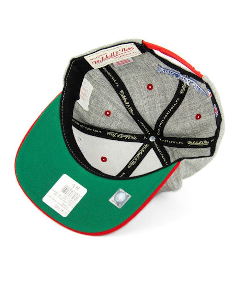 Clippers Team Usa Snapback Heather Grey/re