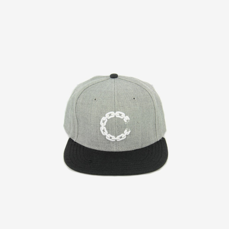 Chain C Snapback Grey/black