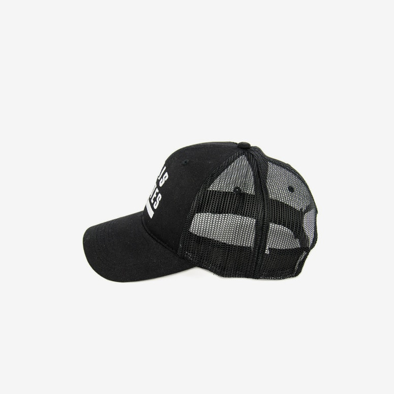 Paris Pirates Trucker Black/black