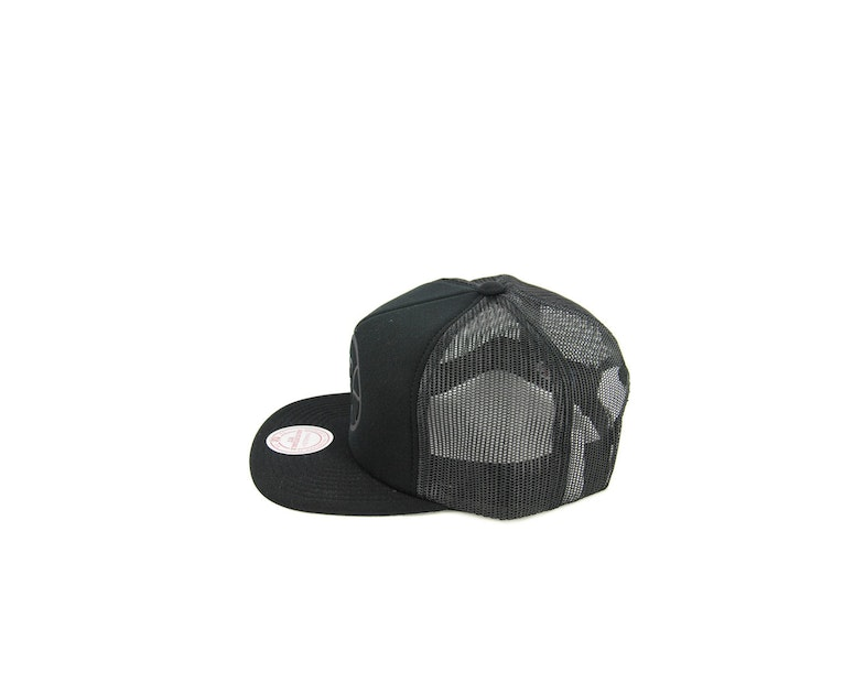 Clippers Tonal D-m Trucker Snapback Black