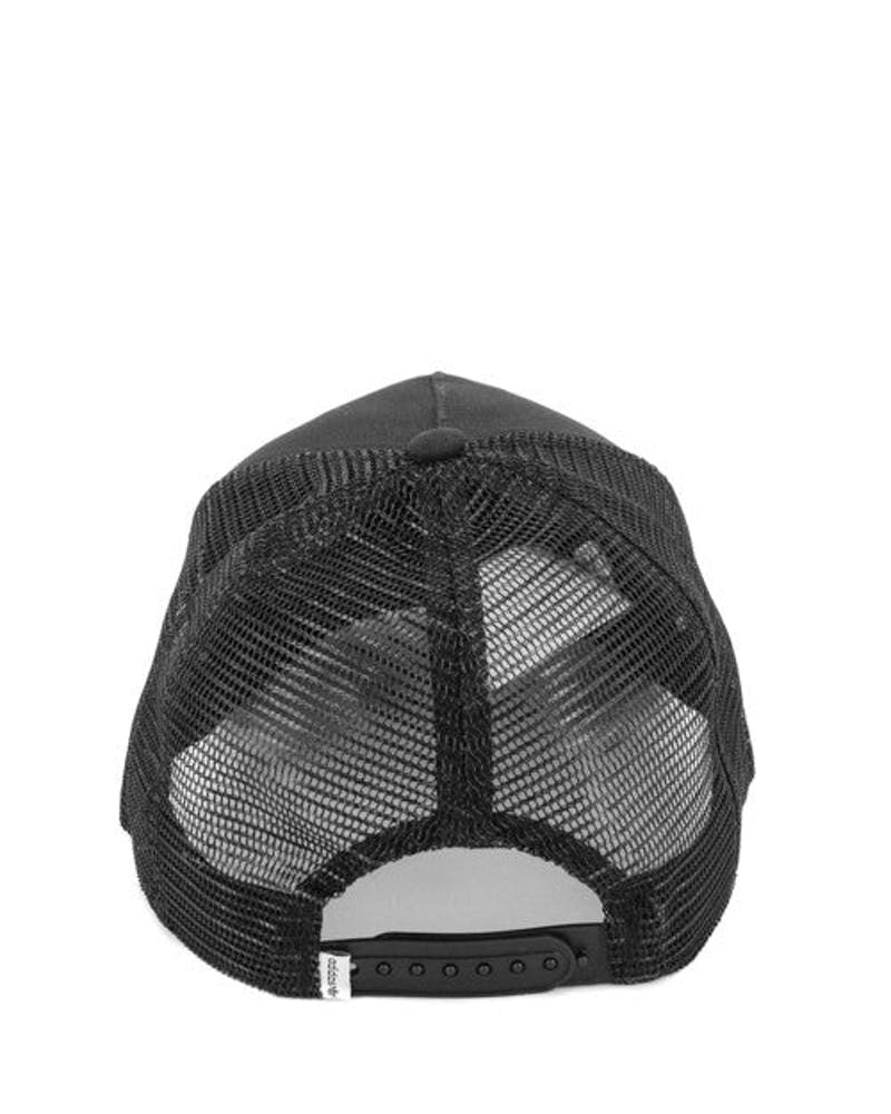 Trefoil Trucker Black/white