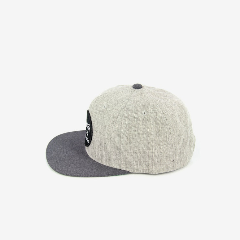 Brixton Wheeler Snapback Heather Grey/ch