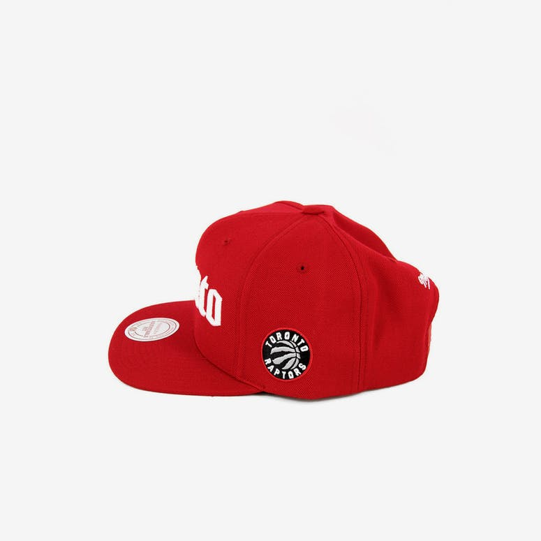 Raptors Gothic City Snapback Red