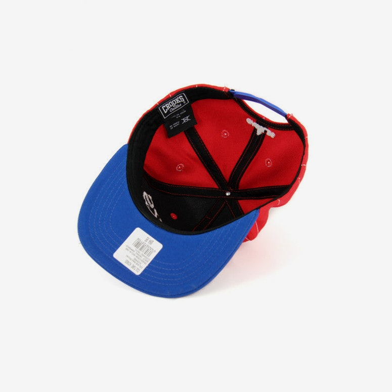 Serif Crooks Snapback Red/royal