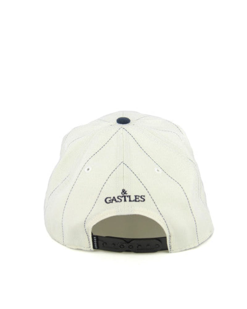 Serif Crooks Snapback White/navy