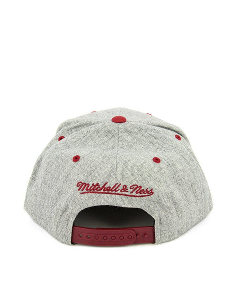 Heat Team Usa Snapback Heather Grey/bu