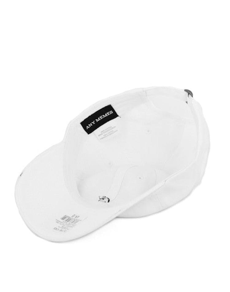 39637cfd32f6b Dad Hat Bear Curved Strapback White – Culture Kings