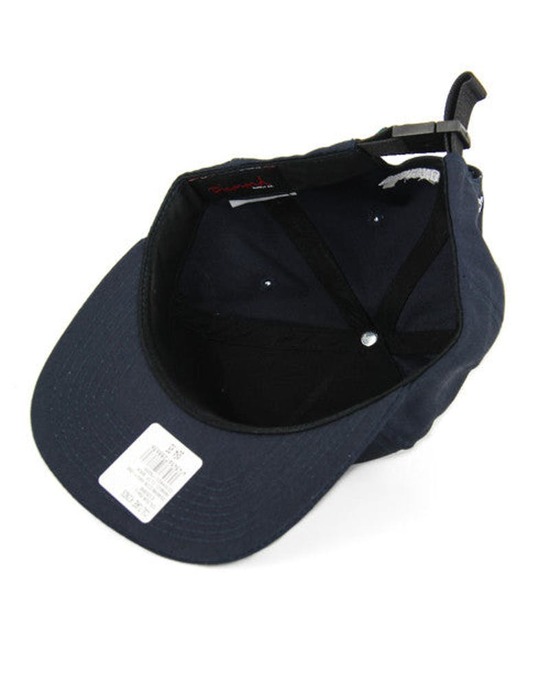 Arabic Clip Back Navy