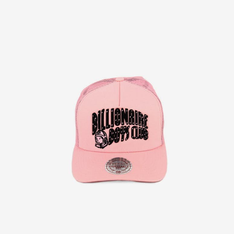 Billionaire Boys Club Arch Trucker Snapback Pink black – Culture Kings 9b26f942dd9a