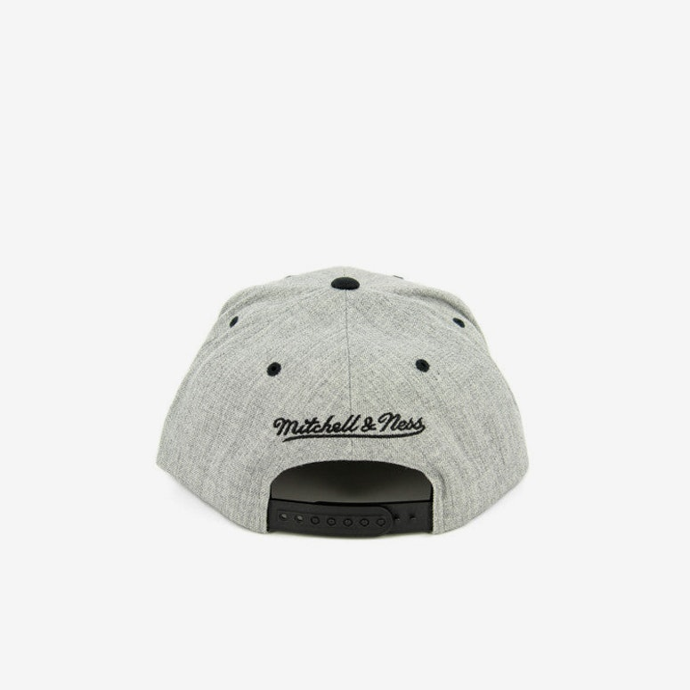 Spurs Team Usa Snapback Heather Grey/bl