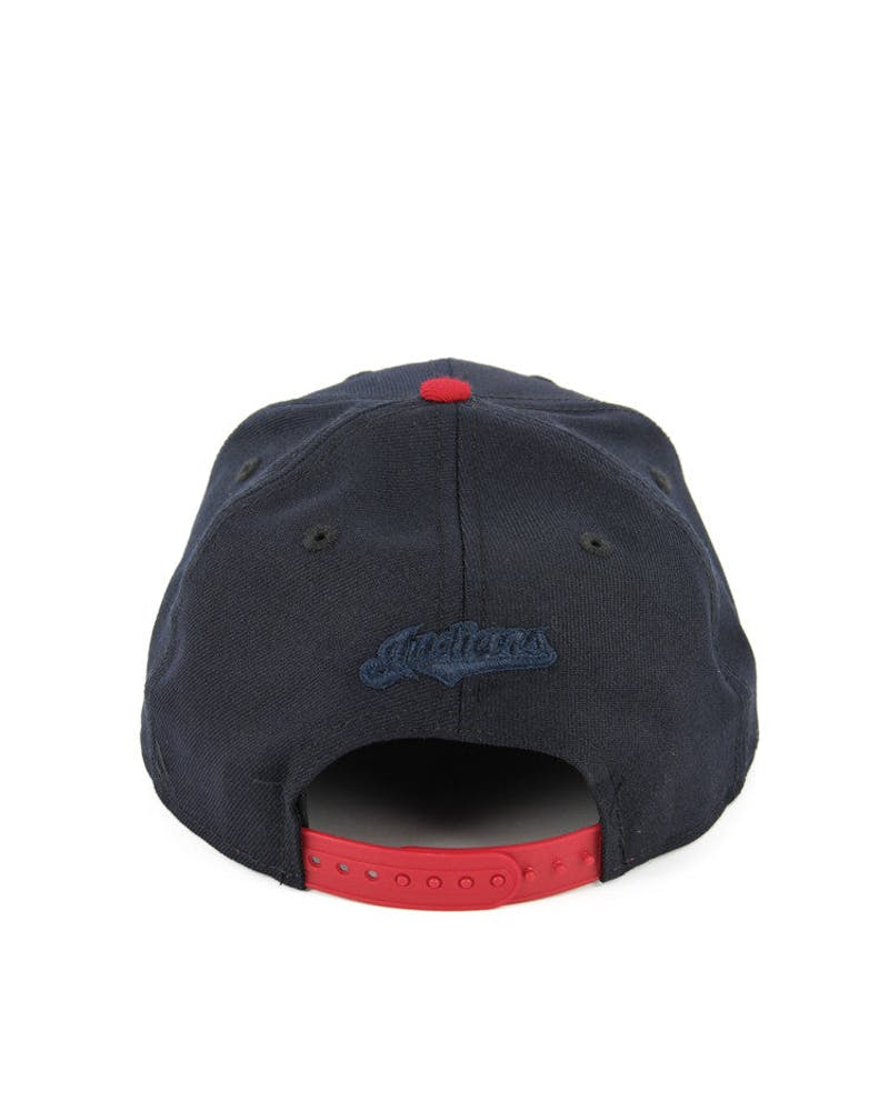 Indians Original Fit Snapback Navy/red