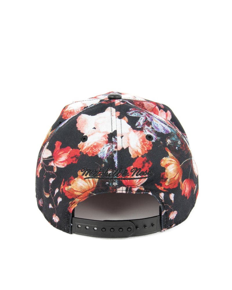 Brooklyn Nets Snapback Floral/black