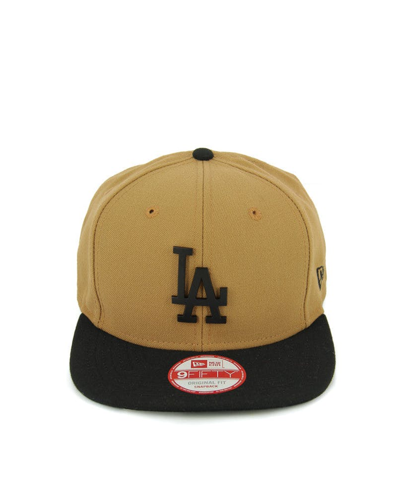 Dodgers Orig.fit Metal Snapback Wheat/black