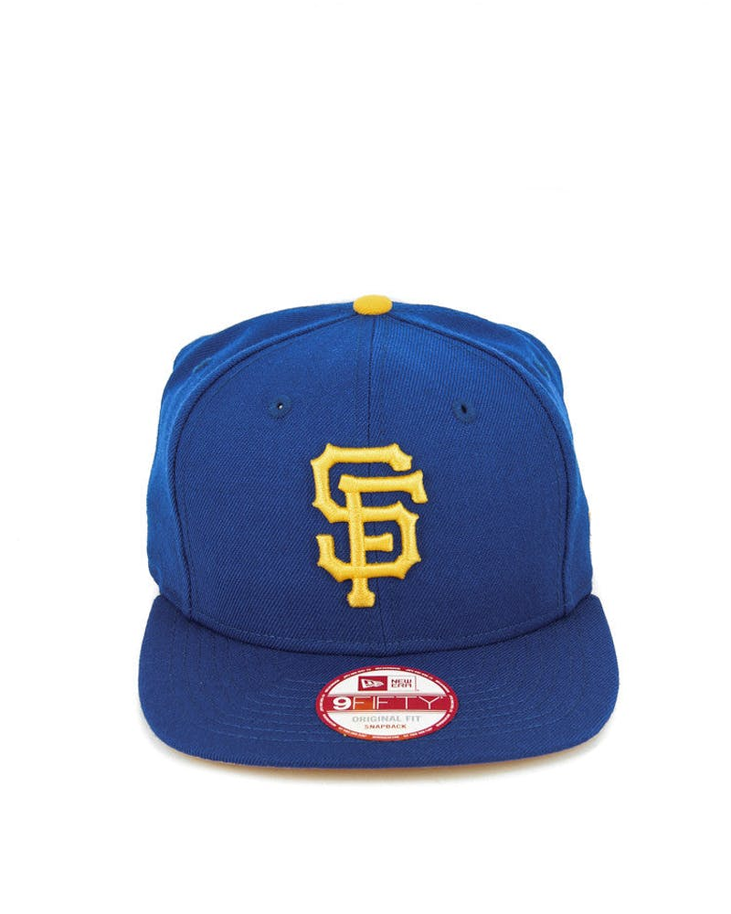 Giants Original Fit Snapback Royal/gold