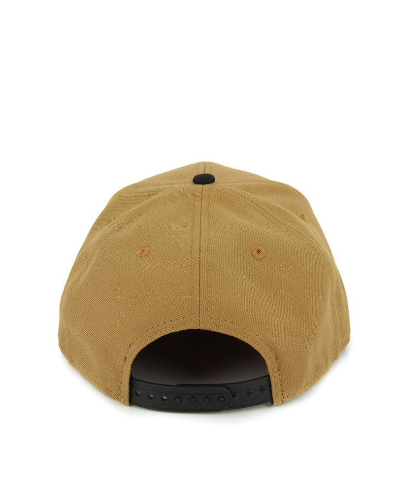 Braves Orig.fit Metal Snapback Wheat/black