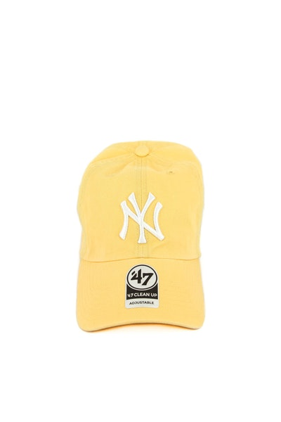 Yankees Clean up Strapback Yellow