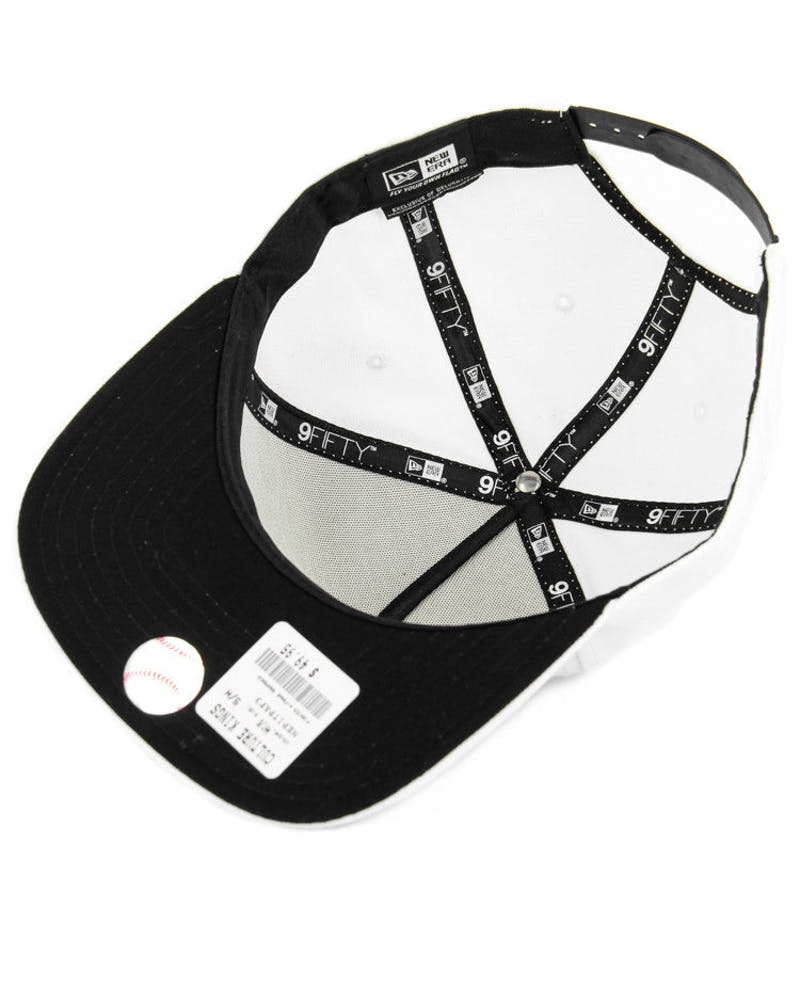 New Era Red Sox CK 940 A-Frame Snapback White/black