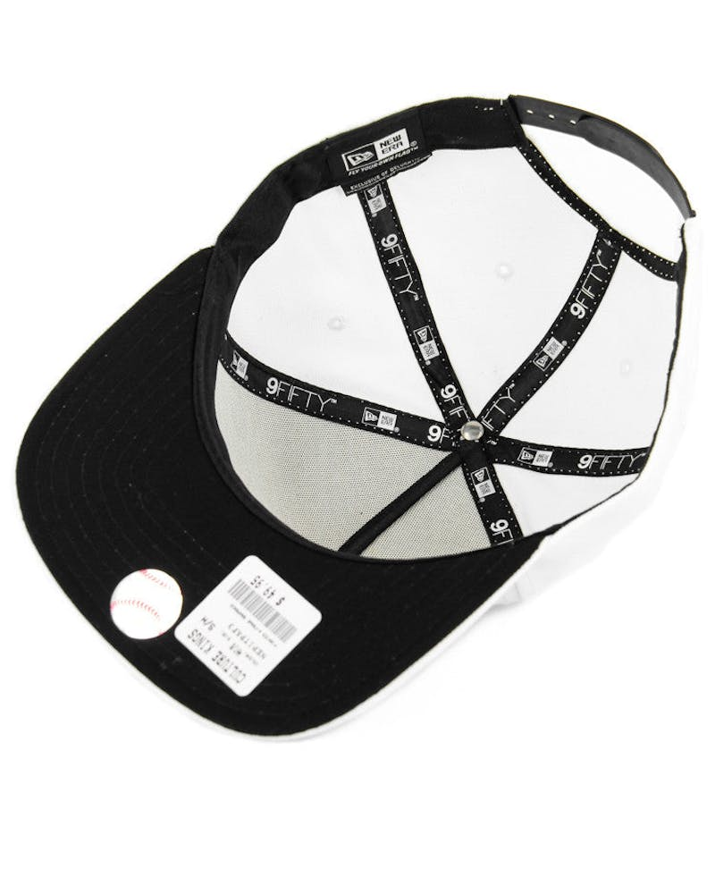 Pirates A-frame Snapback White/black