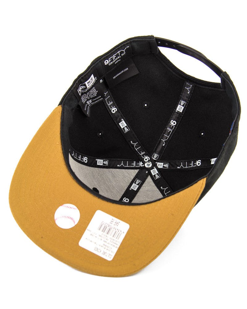 Dodgers Original Fit Snapback Black/tan/white