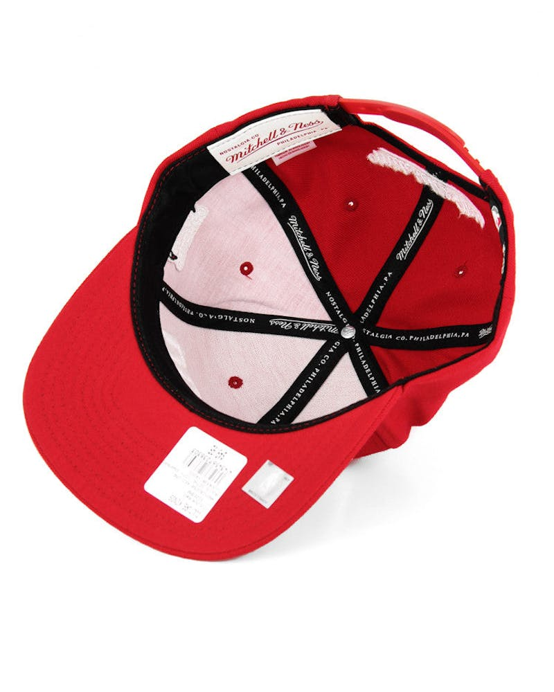 Bulls Gothc City Snapback Red