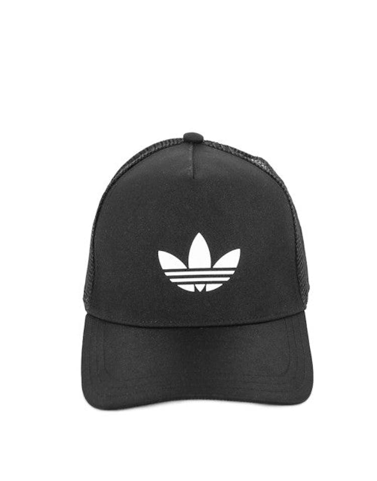 a9ca91d126454 Adidas Trefoil Trucker Black white – Culture Kings