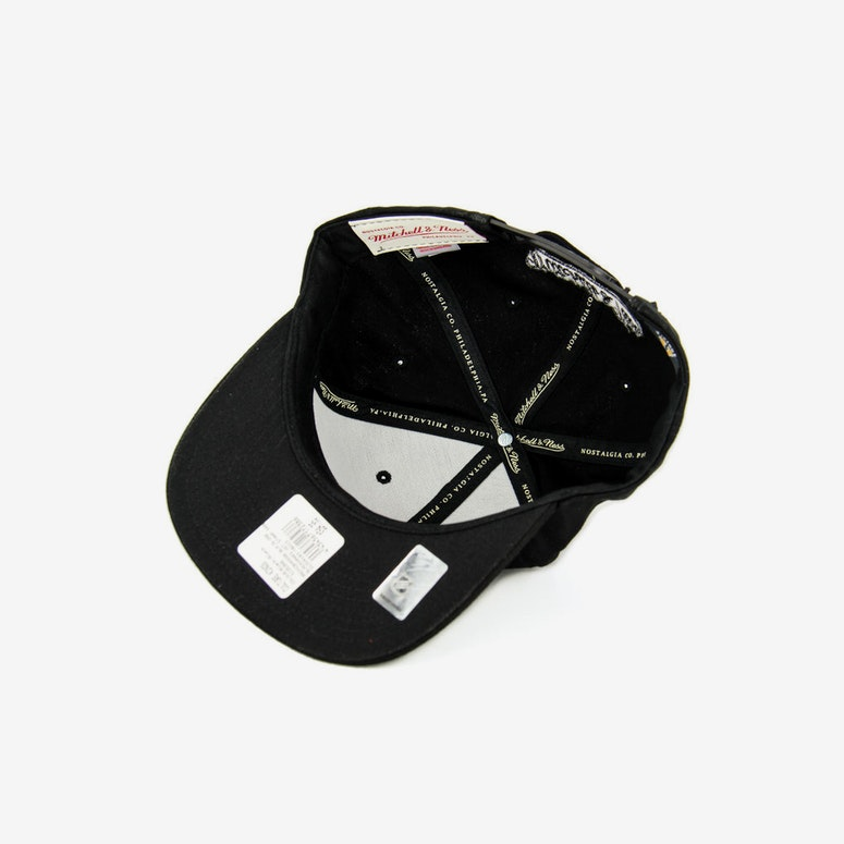 Blackhawks Hot Stamp Snapback Black/black