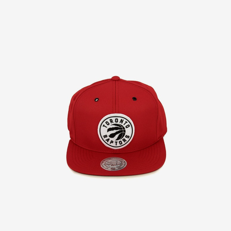 Raptors Board Snapback Red
