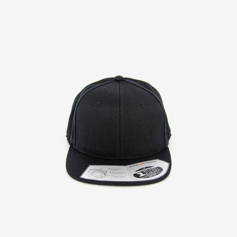bbb7ee36ad0 Flexfit 110 Premium Snapback Black – Culture Kings