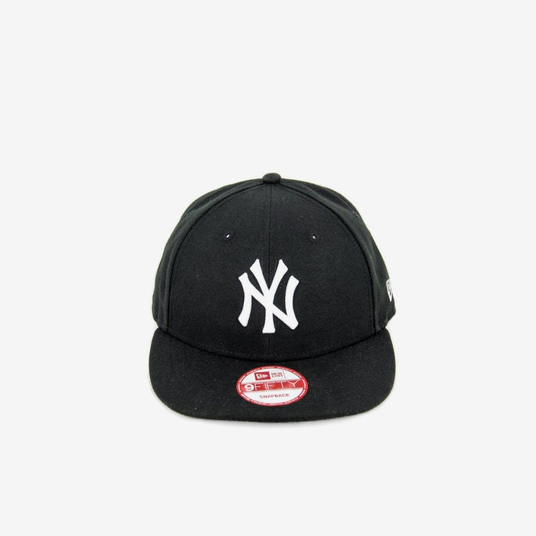 171f183481af4 New Era Yankees Low Crown Snapback Black white – Culture Kings