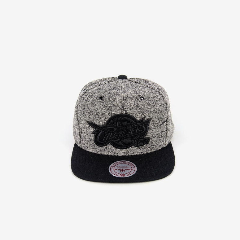 Cleveland Grounded Snapback Grey/black